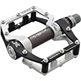 """Xpedo Face Off Pedal XMX18AC 9/16"""" Black/Silver"""