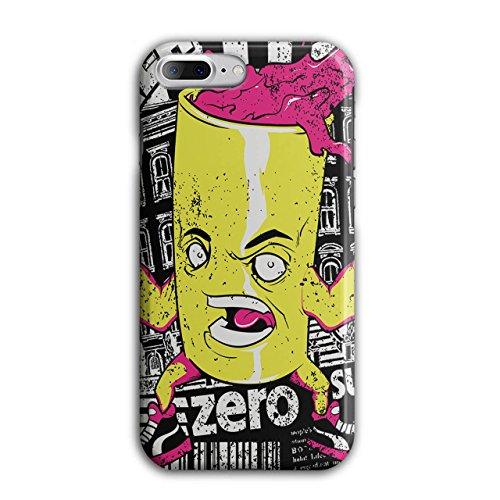 [Can of Juice Mascot Taste Sugar NEW Black 3D iPhone 7 Plus Case | Wellcoda] (Vending Machine Costume Ideas)