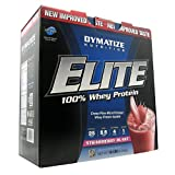 Dymatize Nutrition Elite Whey Protein Isolate, Berry Blast, 10 Pound