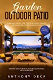 Garden Outdoor Patio: Plans and Step-By-Step