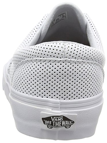True White Classic Leather Vans White Canvas Unisex Zapatillas Era Adulto Perf zqBYxqf