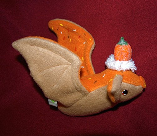 Pumpkin Spice plush Cup Cake Kawaii plushie Christmas decoration Halloween Bat with sugar pumpkin Hat Autumn