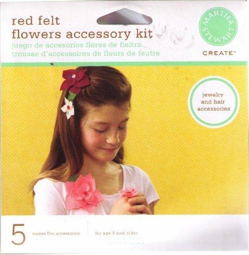 martha-stewart-create-red-felt-flowers-accessory-kit