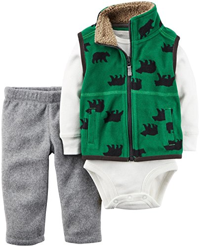 Green Boys Vest - 7