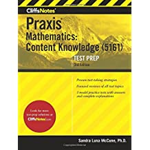 CliffsNotes Praxis Mathematics: Content Knowledge (5161), 3rd Edition