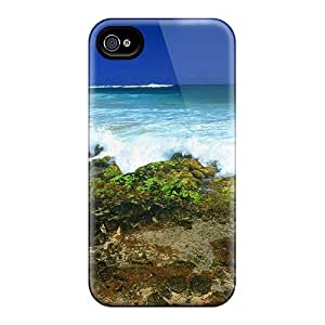 New Premium Flip Cases Covers Beautiful Rugged Beach Skin Cases HTC One M7