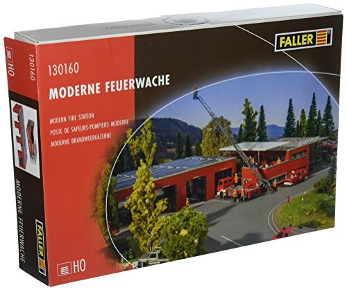 Faller 130160 Modern Fire Station HO Scale Building Kit