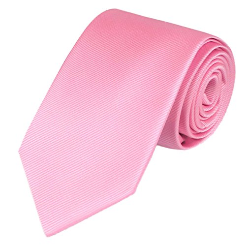 "100% Silk Solid Skinny Tie Necktie for men Handmade Solid Mens Skinny Neck Tie with Gift Box by WITZROYS,2 3/4""(7CM) from WITZROYS"