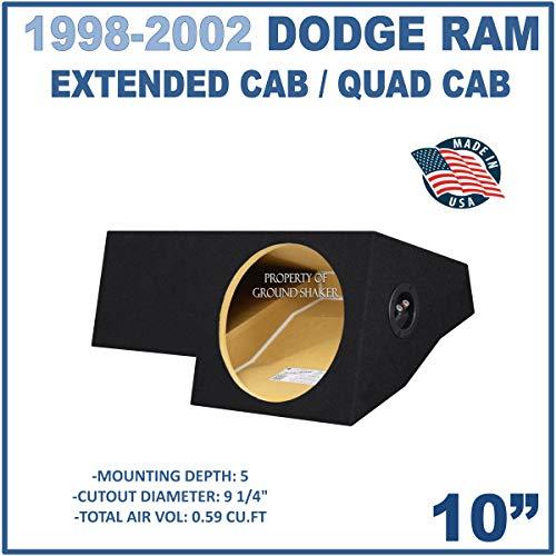 Fits Dodge Ram Extended-Cab/Quad-Cab 1998-2001 10
