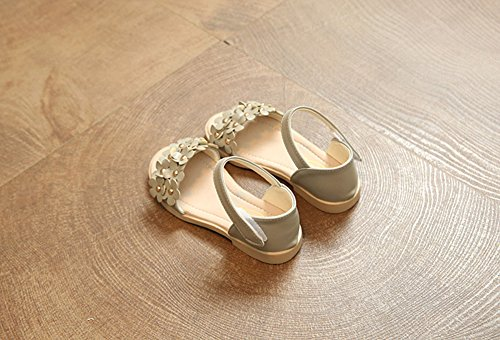 Scothen Niñas strappy sandalias zapatos de verano zapatos casuales zapatos de las sandalias de playa sandalias sandalias romanas los niños zapatos princesa del flip-flop los zapatos la bailarina Light Gray