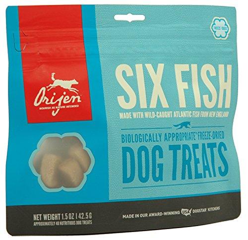 Orijen 6 Fish Dog (Orijen Six-Fish Freeze-dried Treats 1.5 Oz)
