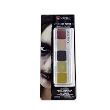 Ovedcray Costume series Undead Zombie Cream Makeup Palette Multi