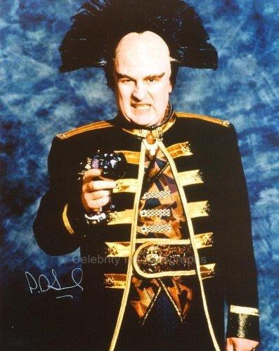 PETER JURASIK as Londo Mollari - Babylon 5 Genuine Autograph from Celebrity Ink