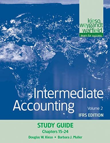 Intermediate Accounting Volume 2 Ifrs Edition