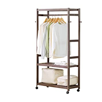 ZRXian-Perchero Ropa Garment Rack Coat Organizer Storage ...