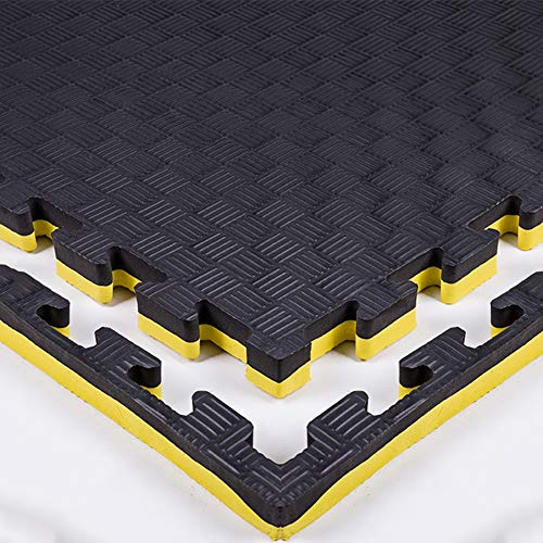 XJJUN Extra Thick Puzzle Exercise Mat, EVA Foam Interlocking Tiles For Protective, Cushioned Workout Flooring For Home…