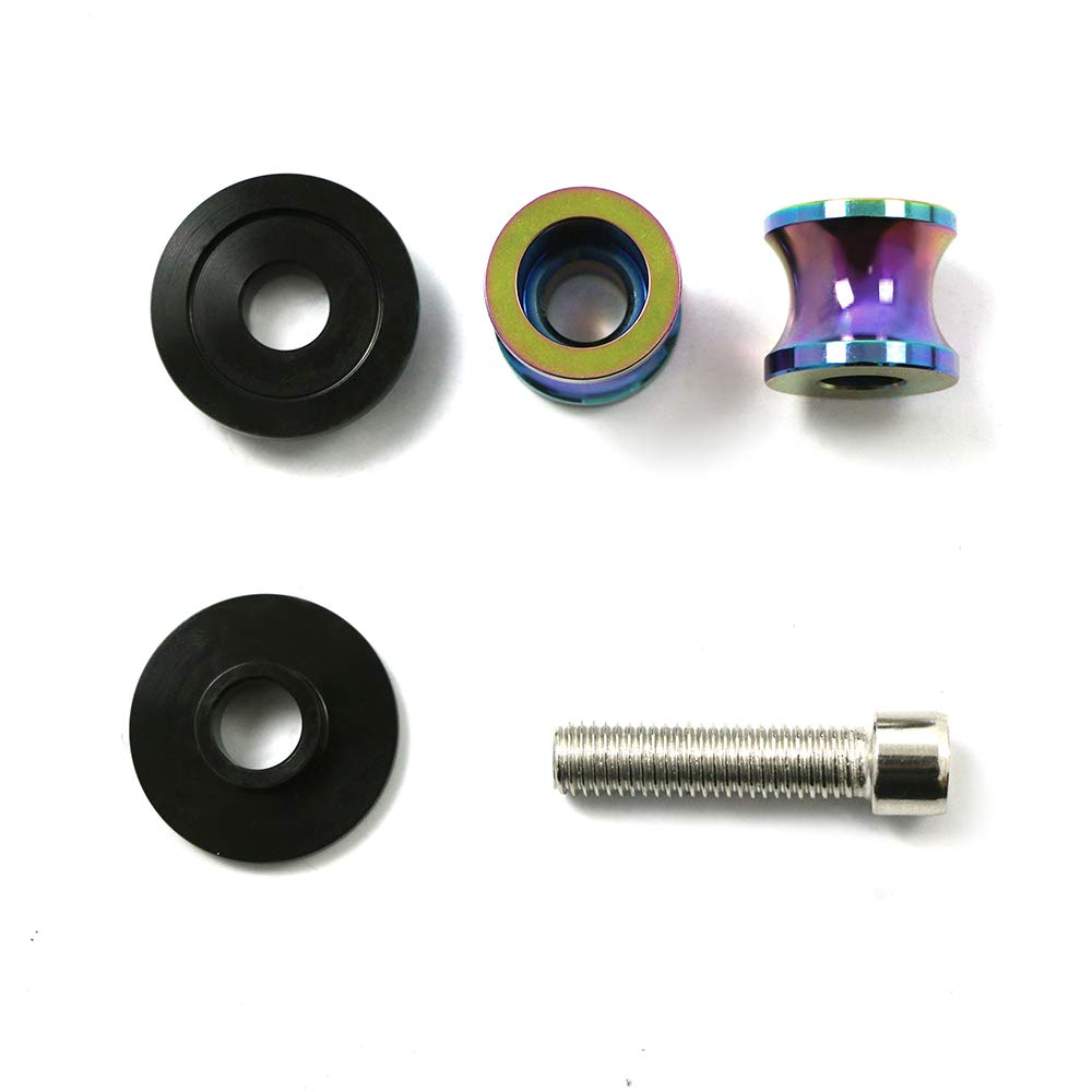 2pac M6 Motorcycle Universal Swing armSliders Spools CNC Swing Arm Stand Screw For Yamaha YZFR1//R6//R125//R6S//R25//R3//600R// Aprilia RSV MILLE Orange S//R RSV4 R Tuono and More