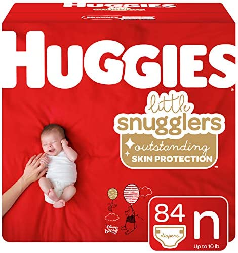 Huggies Snugglers Diapers Newborn Packaging