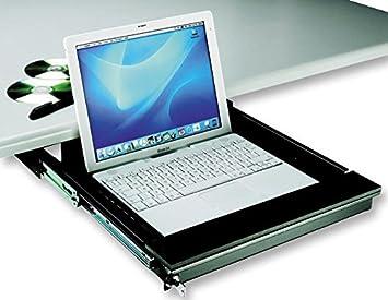 Laptop Schublade 43 18 Cm Schwarz Computer Zubehör