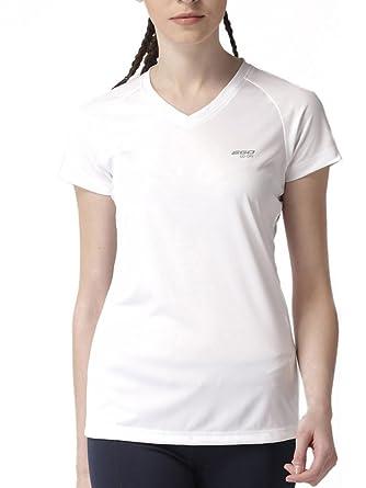 e1e4c98f5 2Go V-Neck Half Sleeve Polyester Sports Yoga Running Gym Active Fitness  wear T-