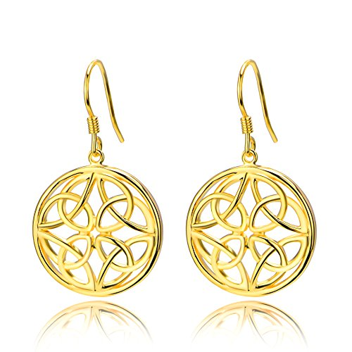 Gold Golden Earrings - 9