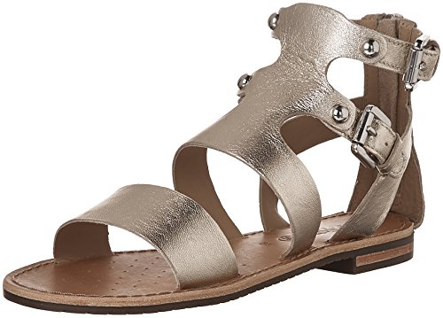 Sandals G D Women's Sozy Gold Light Geox Flat wqABXWvvn