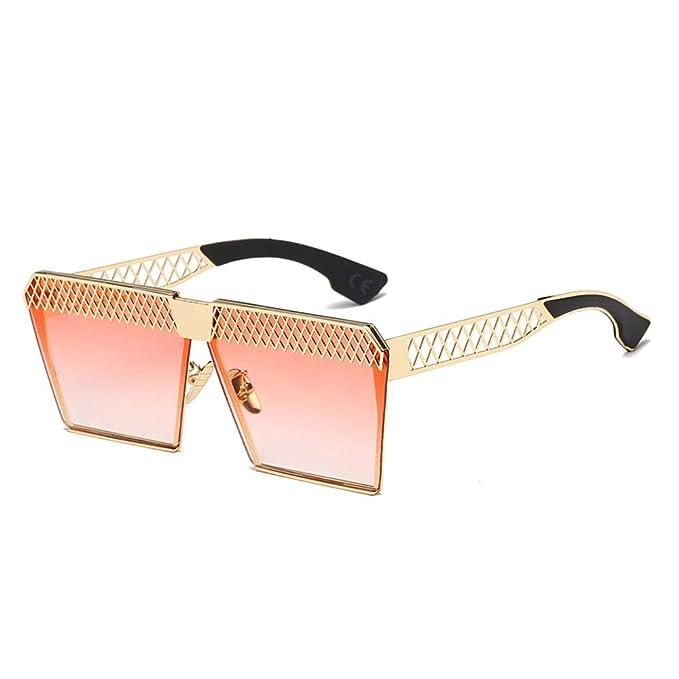 AMZTM Gafas de Sol Grandes para Mujer Polarizadas Moda Marco ...