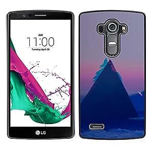 All Phone Most Case / Oferta Especial Duro Teléfono Inteligente PC Cáscara Funda Cubierta de proteccion Caso / Hard Case LG G4 // Geometry Triangle Pattern