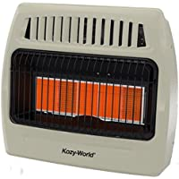 World Marketing of America WORLD MKTG OF AMERICA/IMPORT KWN521 5 Plaque 30000 BTU Gas Wall Heater