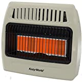 WORLD MKTG OF AMERICA/IMPORT KWN521 5 Plaque 30000 BTU Gas Wall Heater