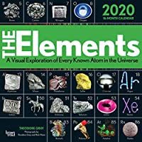 The Elements 2020 12 x 12 Inch Monthly Square Wall Calendar by Hachette, Chemistry Atoms Tabular Electron