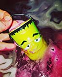 Witch's Brew Cauldron Bath Bomb GREEN Fizzy Large 6