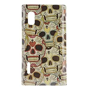 Lovely Skull Pattern Hard Case for LG Optimus L5 E612