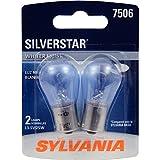 SYLVANIA 7506 SilverStar High Performance Miniature Bulb, (Pack of 2)