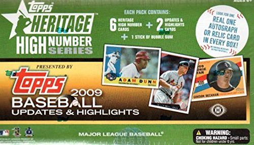 2009 Topps Heritage High Number Series Baseball Cards: Ho...