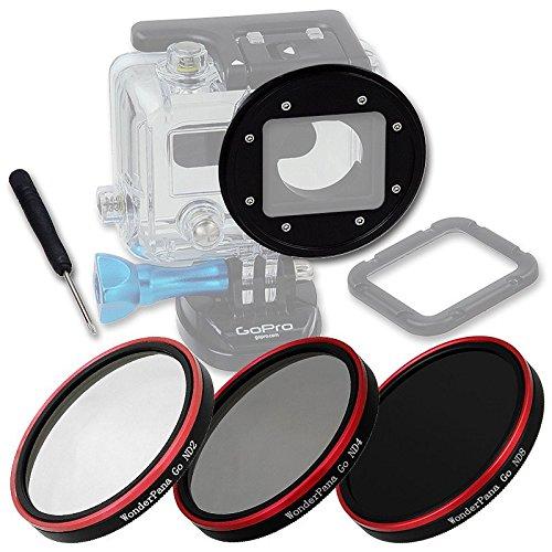 Fotodiox WPGT-H3-ND2-4-8-Kit Pro WonderPana Go H3 Neutral Density Kit