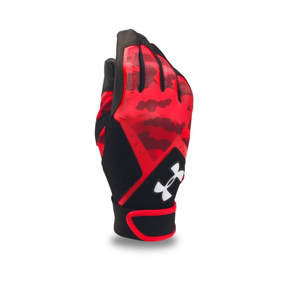 Under Armour 野球グローブ 男の子向け クリーンナップ グラフィックプリント B01N9IT371 YLG Red/ Black/ White Red/ Black/ White YLG