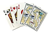 Whidbey Island, Washington - Nautical Chart (Playing Card Deck - 52 Card Poker Size with Jokers)