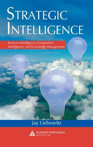 Download Strategic Intelligence: Business Intelligence, Competitive Intelligence, and Knowledge Management Pdf