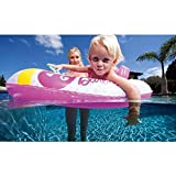Inflatable Boat for Kids Ride on Pool Toys Swimming Pool Lake Floats Fun Stuff Bumper Boat Toy for Boys and Girls Barb