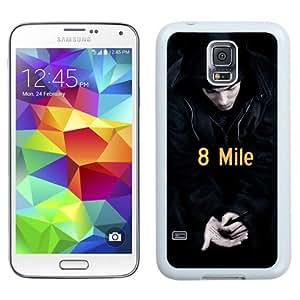 Unique Galaxy S5 Case,Durable I9600 Case Design with 8 Mile 2 Samsung Galaxy S5 SV I9600 White Case