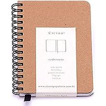 SketchbooK Kraft 75 g/m² 9,0 x 13,0 cm com 96 Páginas Cicero