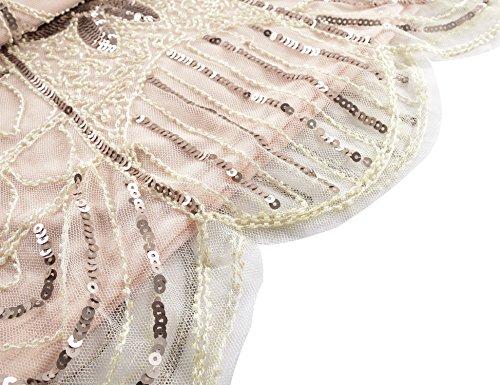 Robe Champagne Glam Des Femmes Kayamiya