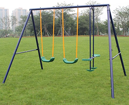KL KLB Sport Metal Swing Set