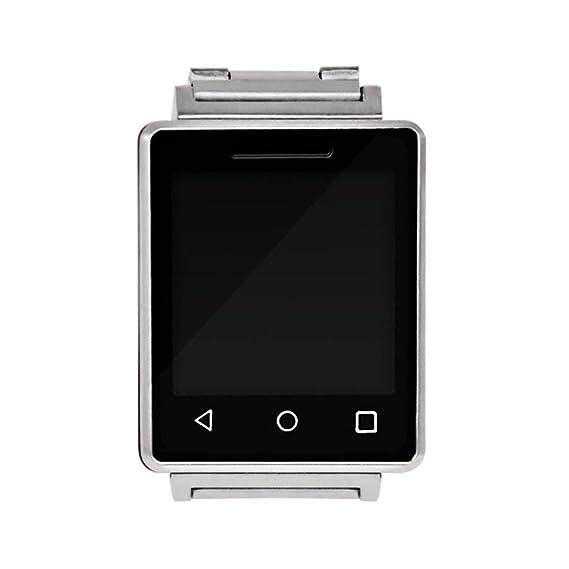 Bluetooth Smart Watch con cámara, impermeable, diario, LCD pantalla táctil, vista de