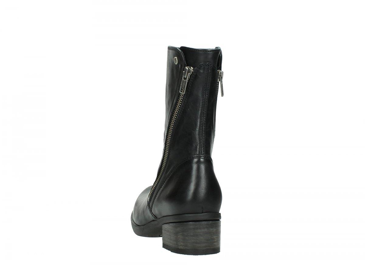 Comfort Stiefel Rialto - 30002 Schwarz Leder - 38 Wolky v2qC3yEKz