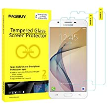 2 Pack [Japan Glass] Super thin 0.26mm Premium Tempered Glass Film Screen Protector-Retail packing for Samsung Galaxy J7 Prime(2017)