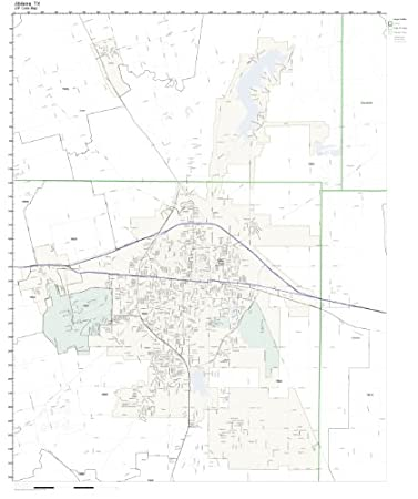 Zip Code Map Abilene Tx.Amazon Com Zip Code Wall Map Of Abilene Tx Zip Code Map Not