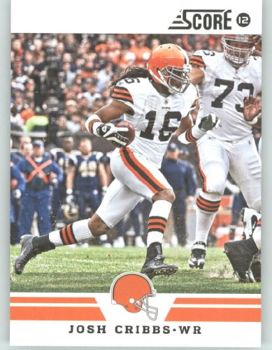 2012 Score Football Card #287 Josh Cribbs - Cleveland Browns (NFL Trading Card)