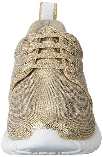 Liu Jo Damen Saori Sneaker Gold (platino Met.)